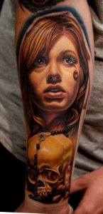 Good Portrait Tattoo