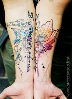 Abstract Tattoos & Ideas