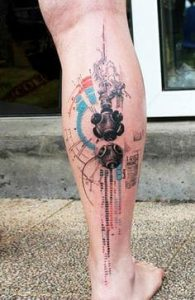 Abstract Tattoos 14