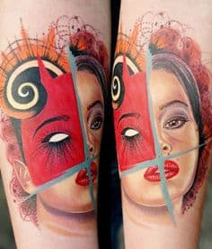 Abstract Tattoos 8