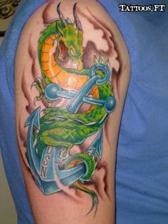 Anchor Tattoo 14