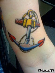 Anchor Tattoo 16