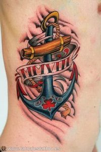Anchor Tattoo 27