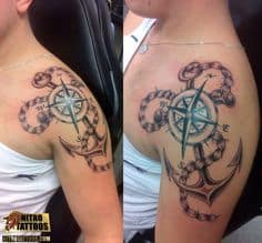 Anchor Tattoo 7