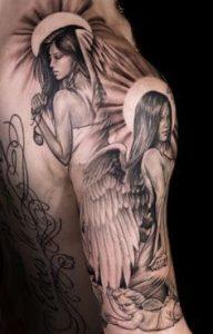Angel Tattoo 14