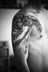 Angel Tattoo 8