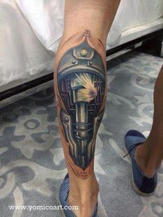Biomechanical Tattoo 27