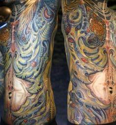 Biomechanical Tattoo 30