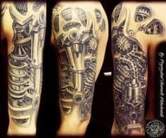 Biomechanical Tattoo 34