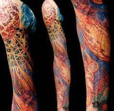 Biomechanical Tattoo 36