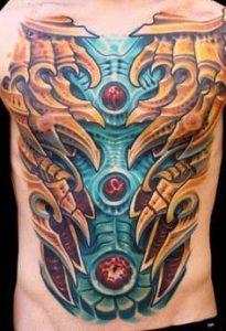 Biomechanical Tattoo 37