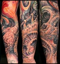 Biomechanical Tattoo 39