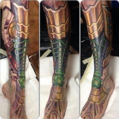 Biomechanical Tattoo 43