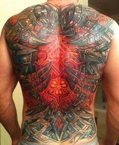 Biomechanical Tattoo 48