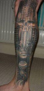 Biomechanical Tattoo 50