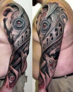 Biomechanical Tattoo 8
