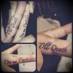 Couple Tattoo Ideas 27