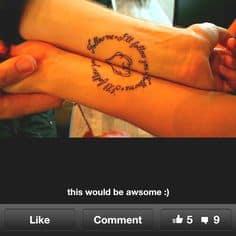 Couple Tattoo Ideas 8