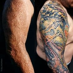 Cover Up Tattoo 14