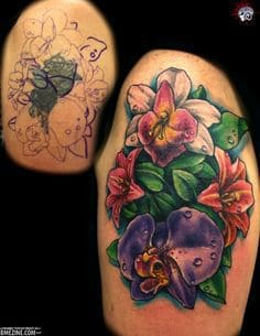 Cover Up Tattoo 18