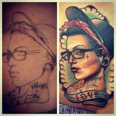 Cover Up Tattoo 19