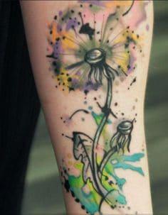 Dandelion Tattoos 1
