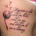 Dandelion Tattoos 38