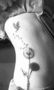 Dandelion Tattoos 46