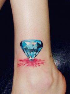 Blue Diamond Tattoo Meaning
