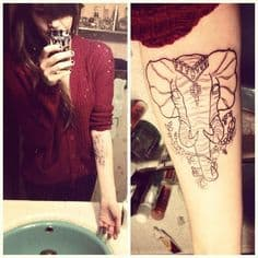 Elephant Tattoo Meaning 21