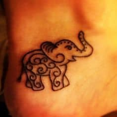 Elephant Tattoo Meaning 24
