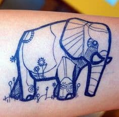 Elephant Tattoo Meaning 25