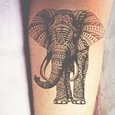 Elephant Tattoo Meaning 28