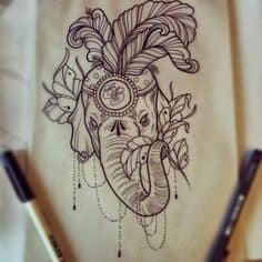 Elephant Tattoo Meaning 31