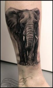 Elephant Tattoo Meaning 34