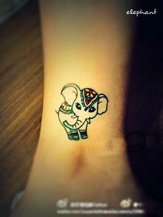 Elephant Tattoo Meaning 35