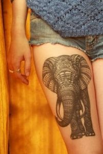 Elephant Tattoo Meaning 38