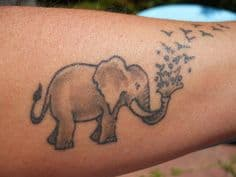 Elephant Tattoo Meaning 42