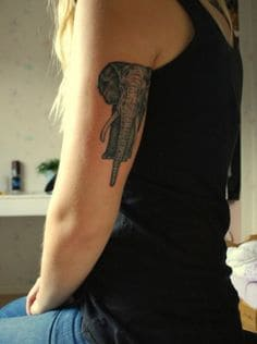 Elephant Tattoo Meaning 5
