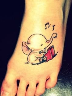 Elephant Tattoo Meaning 6