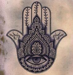 Hamsa Tattoo Meaning 12