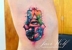 Hamsa Tattoo Meaning 14