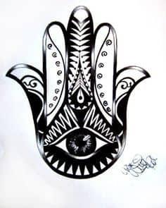 Hamsa Tattoo Meaning 7