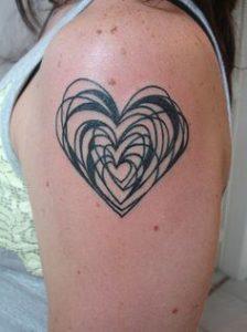 Heart Tattoo 17