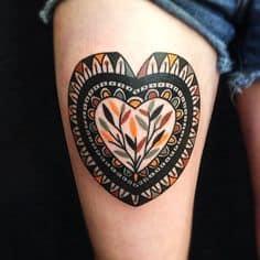 Heart Tattoo 23