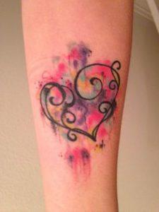 Heart Tattoo 25