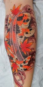 Koi fish tattoo meaning symbolism for What does koi mean