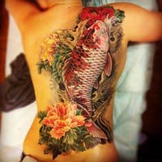 What Does Koi Fish Tattoo Mean 45 Ideas And Designs