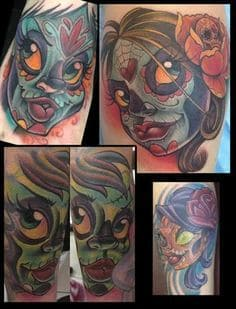 New School Tattoo 11