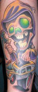 New School Tattoo 35
